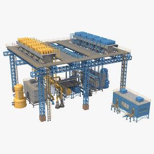 3D industrial model