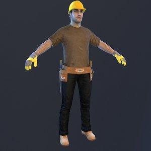handyman man model