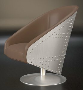 swivel seat 3D model