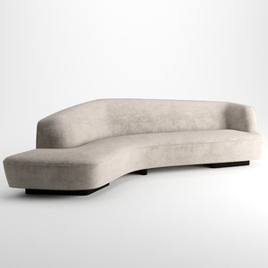3D korduda sofa vladimir kagan