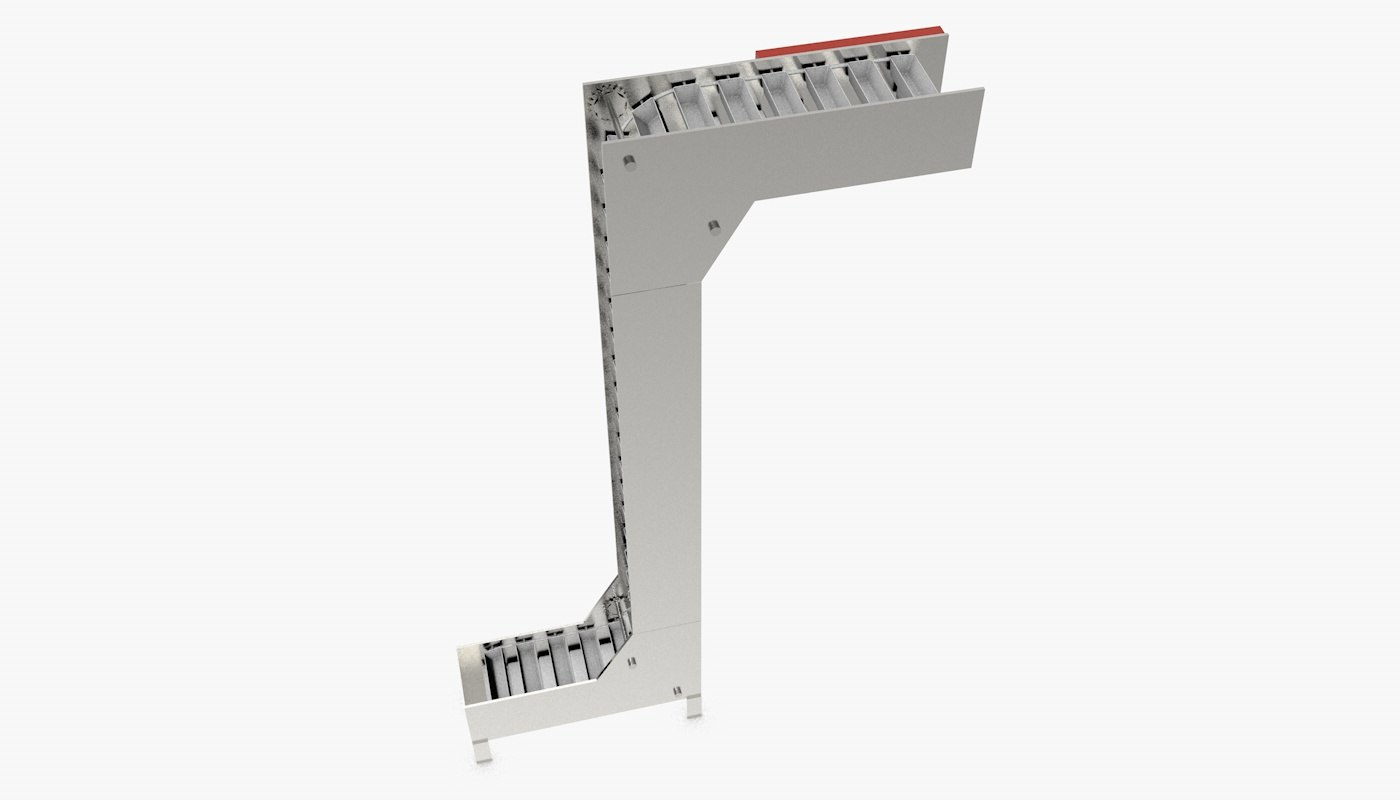 Multi Point Bucket Elevator 3D mode