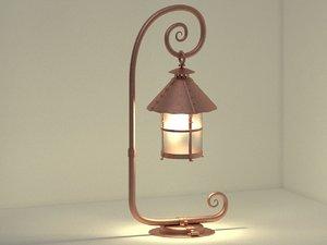 3D model lantern design