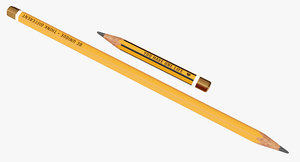 3D pencils simple