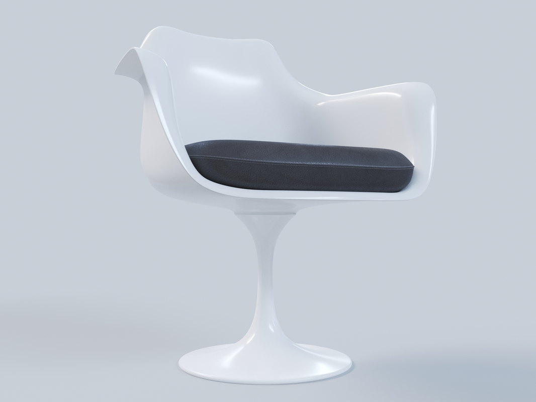 tulip chair 3D