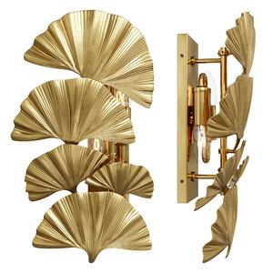 wall lamp eichholtz 3D model