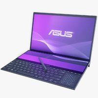 3D asus zenbook duo model