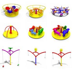 3D set merry