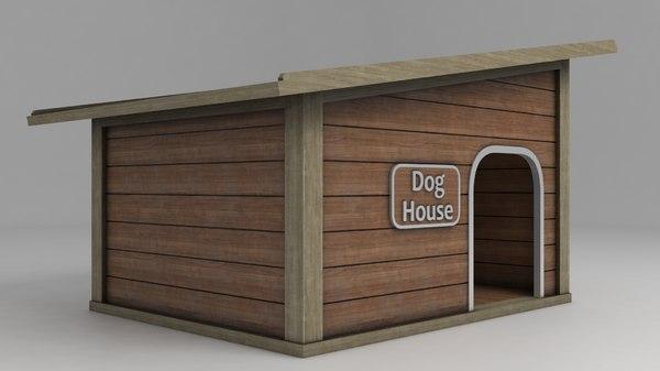 doghouse shelter 3D model