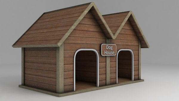 doghouse shelter 3D