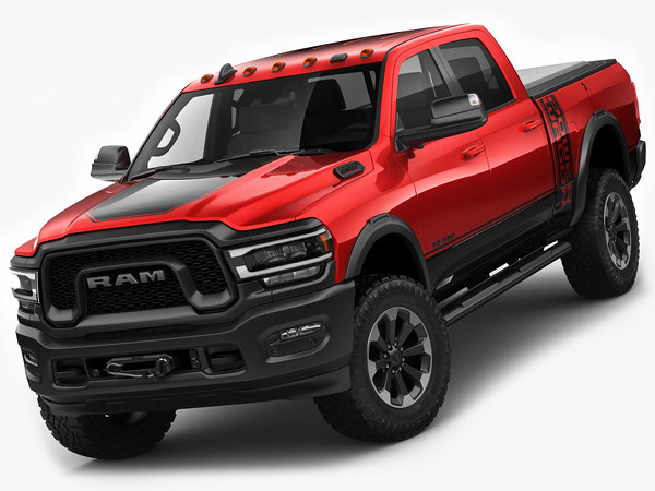 ram power wagon 3D model