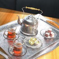 chinese tea pot 3D
