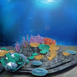 sea undersea model