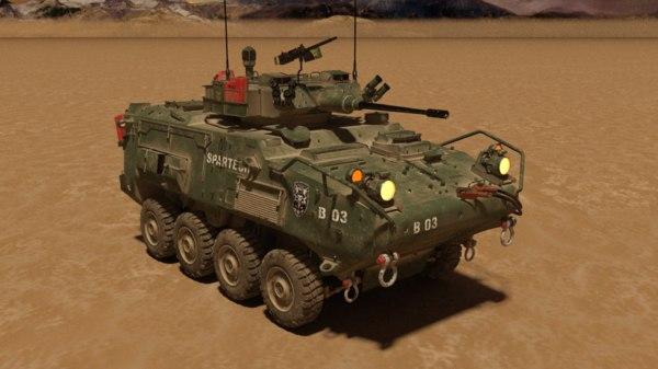 3D lav tank