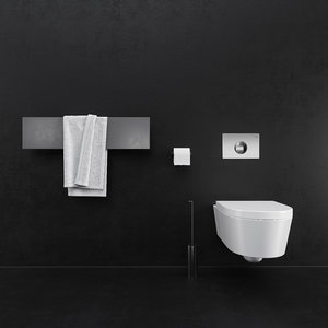 photorealistic bathroom sets 3D model