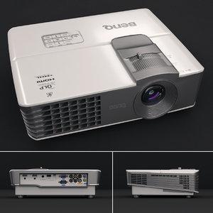 projector benq w1070 3D model