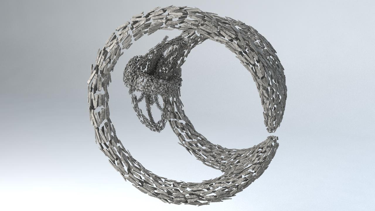 - shape 3D model