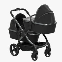 3D icandy peach twin carrycot