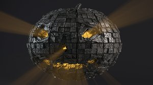 - sci-fi shapes halloween 3D model