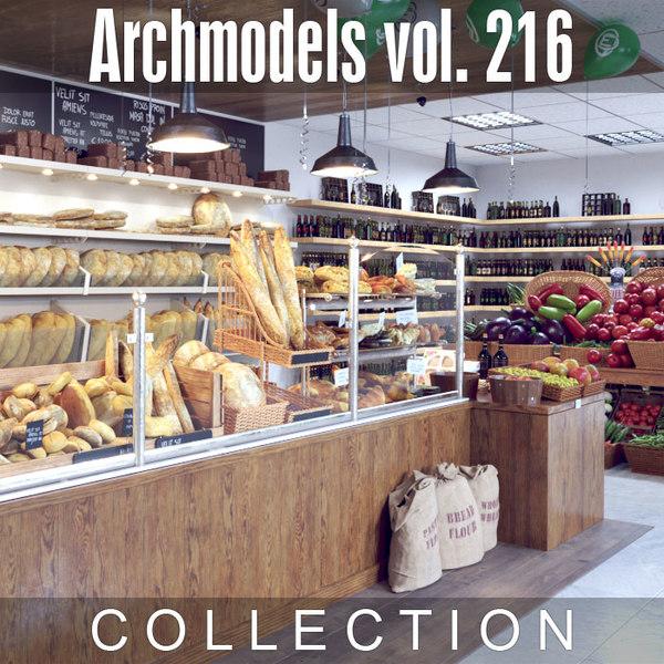 3D archmodels vol 216