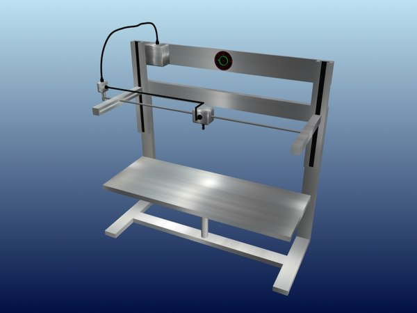 printer scanner 3D model