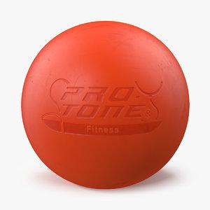 lacrosse ball 3D