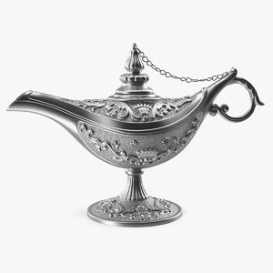 magic lamp silver model
