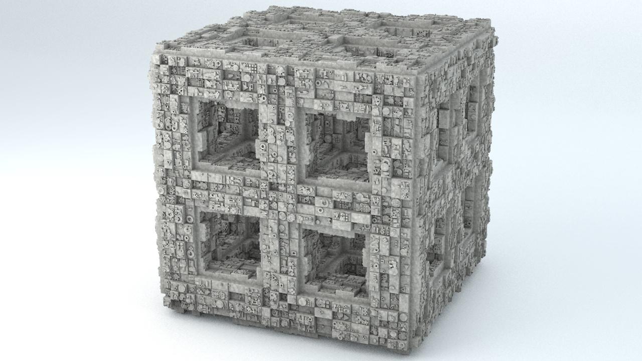 3D - sci-fi model