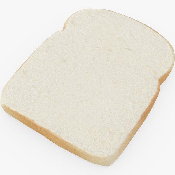 bread slice model
