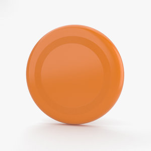 3D frisbee sports model