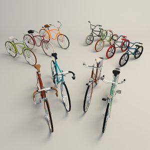 cruiser bike 3D