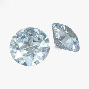 diamond gem jewel 3D model