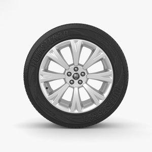 wheel rim 3D