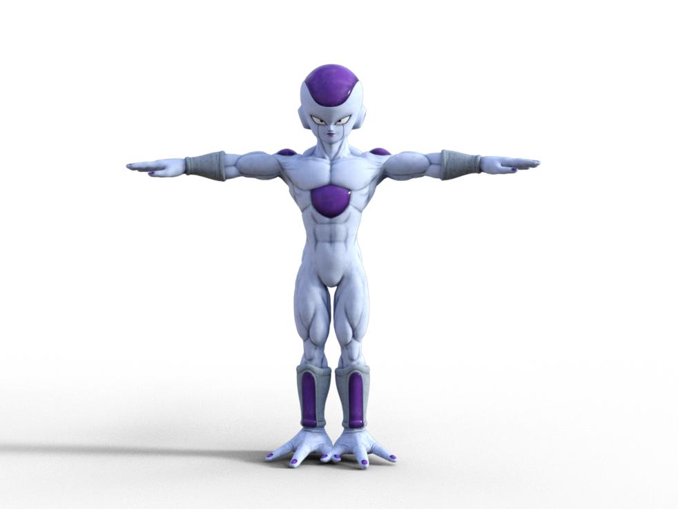 3D model freezer jump force
