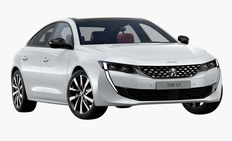 2019 Peugeot 508 Gt 3D