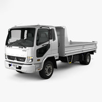 mitsubishi fuso fighter 3D model