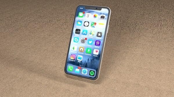 x phone 3D