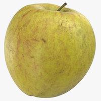 3D model ambrosia apple 01