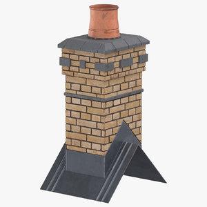 3D chimney 03 model