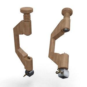 brace hand drill 1765 3D