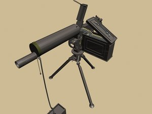 protector cannon 3D