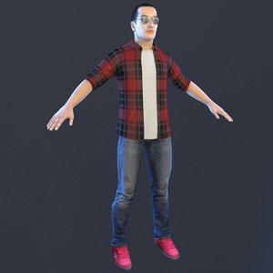casual man model