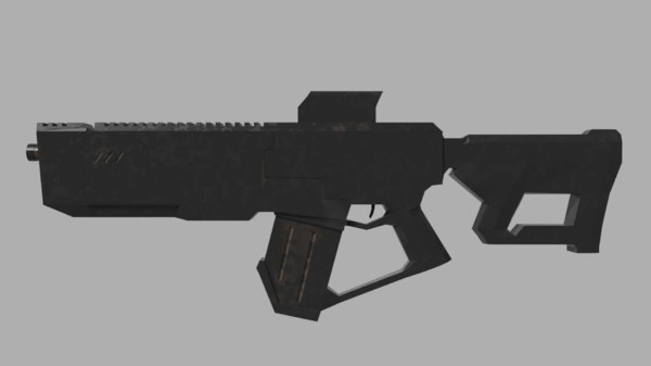assault rifle model
