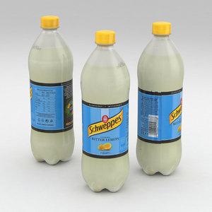 3D bottle model