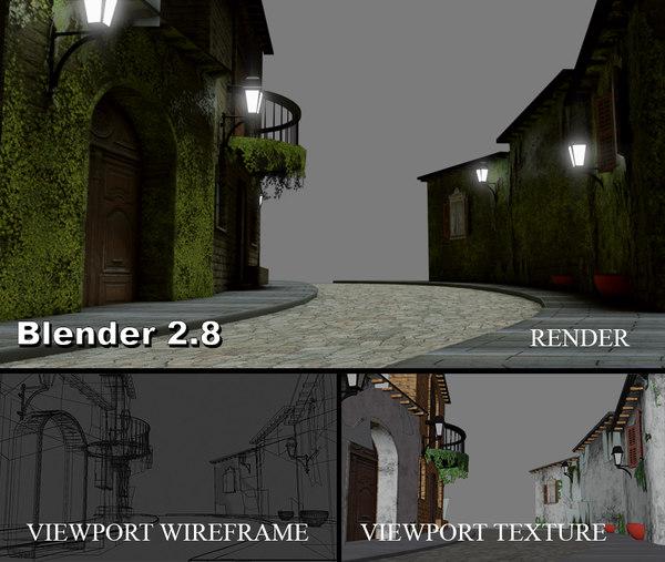 3D mediaval arquitecture
