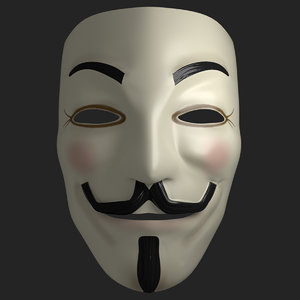 3D anonymous mask