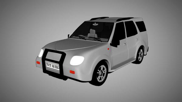 3D suv car vehicle