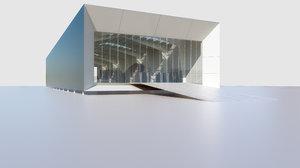 warehouse modo 3D