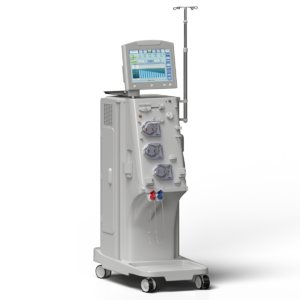 3D dialysis machine modelled