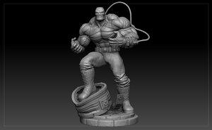 bane print 3D model