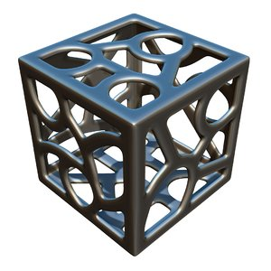 3D model cube design